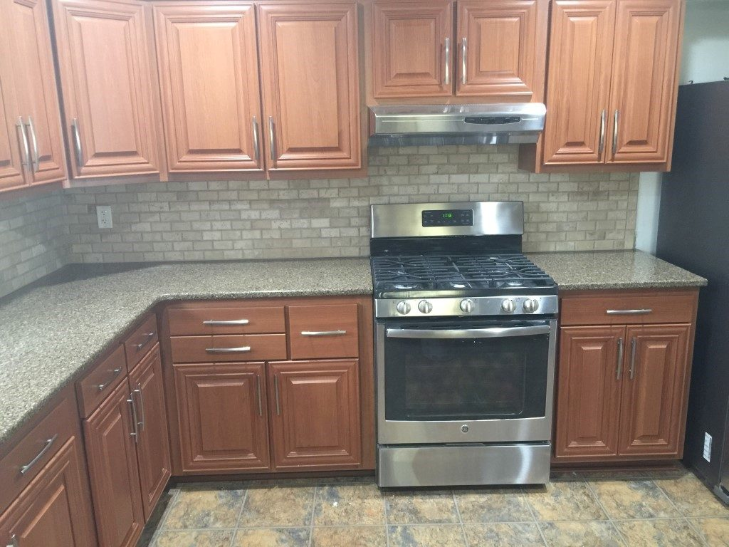 Kitchen cabinet refacing granite countertops new jersey for Kitchen cabinet refacing