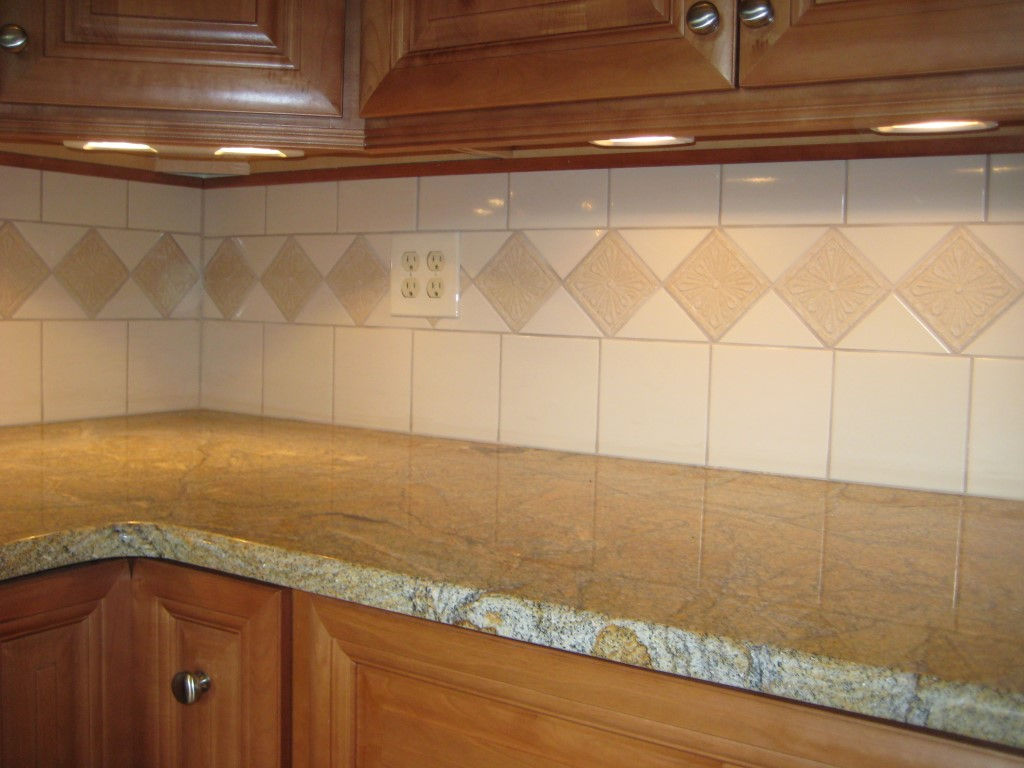 Tile backsplash construction in new jersey - Custom kitchen backsplash tiles ...