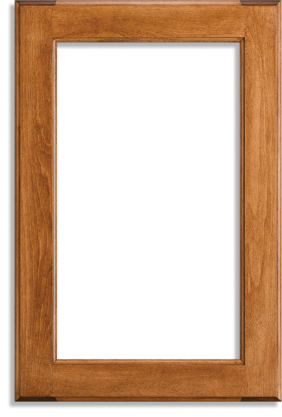 Frame Only White Maple Cherry