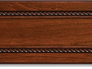 Rope Clear Cherry Artisan Rosewood