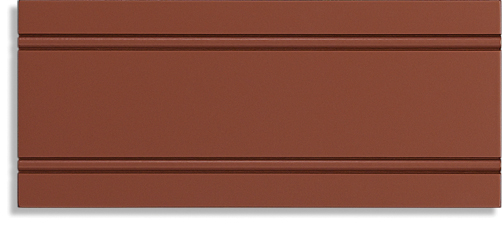 Shaker Beaded Paint Grade Bold Brick