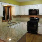 Drake Remodeling cabinet refacing Milford NJ full view
