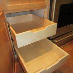 Drake Remodeling cabinet refacing Hillsborough NJ maple cabinet rolling shelves